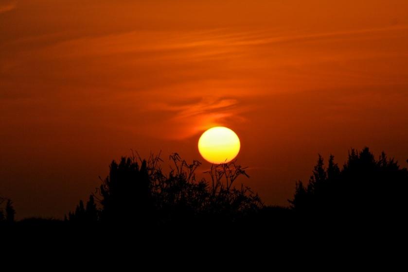 Sonnenuntergang in Byblos