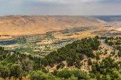 Blick in Richtung Golan