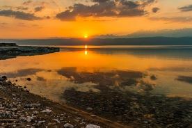 Totes Meer, Dead Sea, Sonnenuntergang