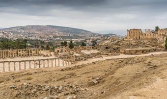 Visit Jerash in Jordan