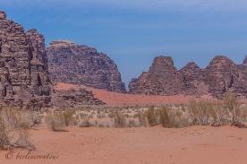 Jordaniens Wüste