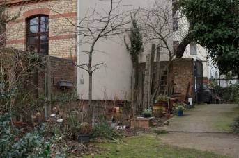 Kleingärten in den Hinterhöfen des Prenzlauer Bergs