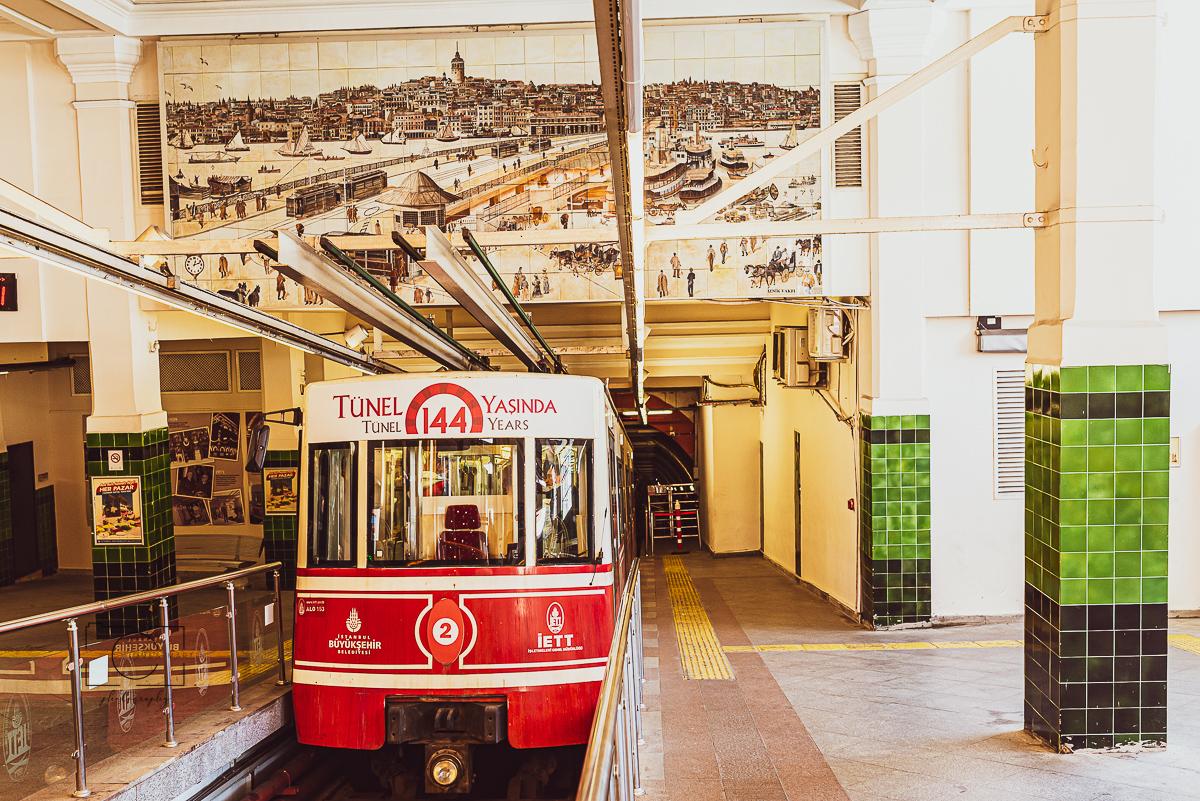 Tünel - Bahn